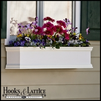 "48"" Laguna Premier Direct Mount Flower Box"