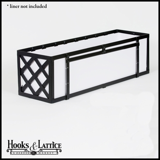 "48"" Lattice Window Box Cage"