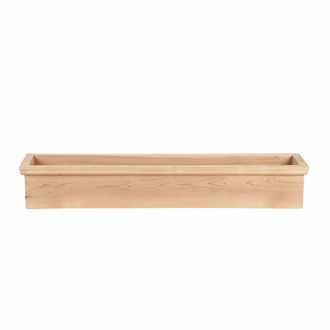 48in. Newport Cedar Window Box