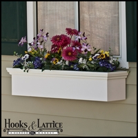 "48"" Newport Premier Direct Mount Flower Box"