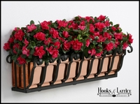"48"" Pacific Heights Copper Window Box"