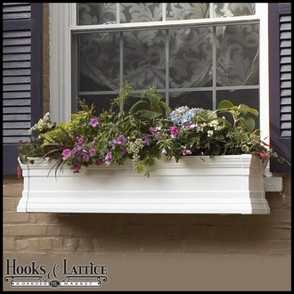 "48"" Royal Vinyl Window Box"