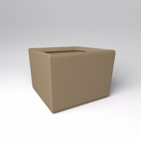 "48"" Square x 36""H Naples Square Planter"