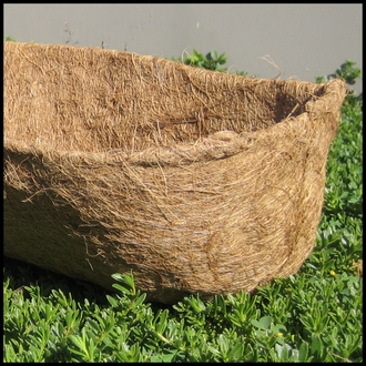 "48"" Standard Coconut Liner for Hayracks & Troughs"