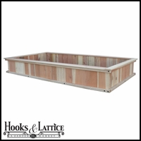 "48""x96""x12"" Redwood Raised Bed"