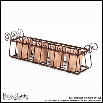 60in. Heatherbrook Window Box Cage