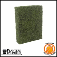 Boxwood Fire Retardant Artificial Hedge 48in.L x 12in.W