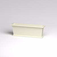 48in.L x 12in.W x 18in.H Prato Rectangular Planter