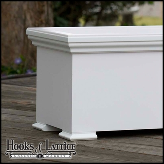 48in. Newport Premier Deck Planter w/ Feet 12in. W x 12in. H