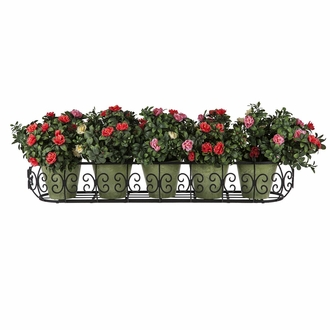 48in. Parisian Window Box