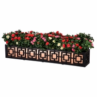 48in. Sofisticato Aluminum Window Box