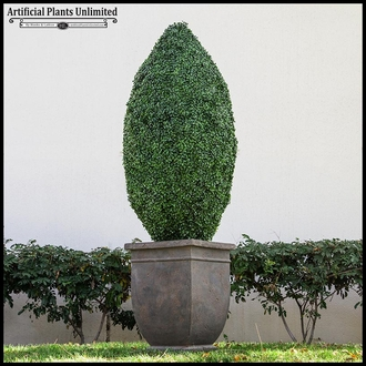 48inH Oblong Topiary, Fire Retardant