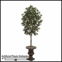 5.5' Artificial Azalea Leaf Topiary Tree - Indoor