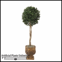 5.5' Bay Leaf Topiary Ball - Indoor