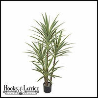 5' Artificial Yucca Tree, Outdoor Rated