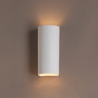 """5"""" Classic Cylinder Ceramic Sconce"""
