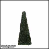 5' Cypress Cone Topiary - Outdoor