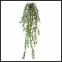 5 ft Artificial Hanging Asparagus Bush - Outdoor Rated