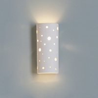 "5"" Glowing Spheres Contemporary Wall Sconce"