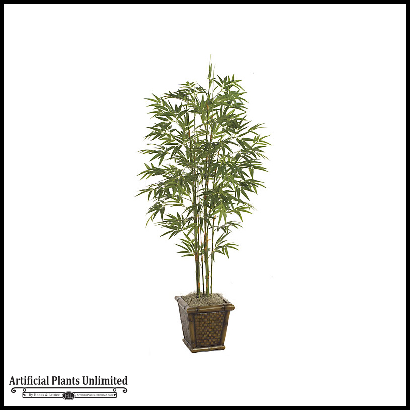 5' japanese bamboo tree - green|indoor Artificial Plants and Trees Indoor