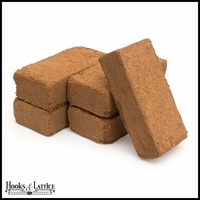 5 Pack of Coconut Coir Fiber Blocks - Growing Medium