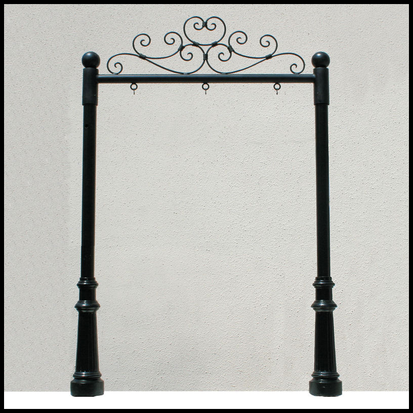 Ornamental Post And Panel Kit 40 Sign Bracket Store Adorable Decorative Sign Posts And Brackets