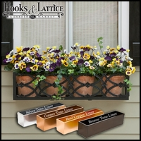 "54"" Baton Rouge Aluminum Window Box"