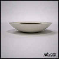"54""Dia. x 12""H Modern Low Bowl Planter"