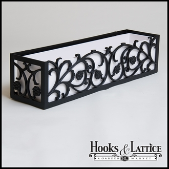 "54"" French Quarter Aluminum Window Box"