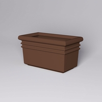 "54""L x 30""W x 30""H Orvieto Rectangle Planter"