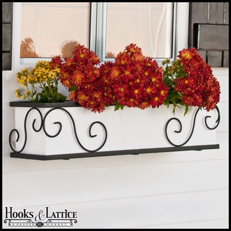 "54"" Scroll Window Box Cage"