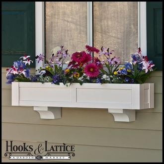"54"" Solera Premier Direct Mount Flower Box"