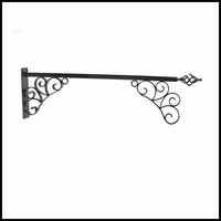 "56"" Aventine Lower Scroll Sign Bracket"