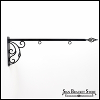 "56"" Napoli Lower Scroll Sign Bracket"