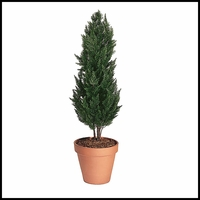 56in. Outdoor Rated Artificial Cypress