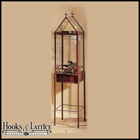 "58"" Tall Wardian Terrarium Case - Freestanding"