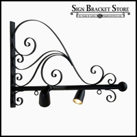 "58"" Verona Illuminata Hanging Sign Bracket"