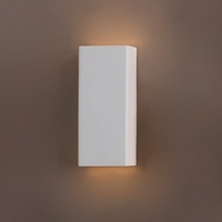 "6.5"" Ceramic Column Geometric Wall Sconce"