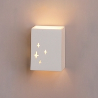 "6.5"" Shining Star Block Sconce"