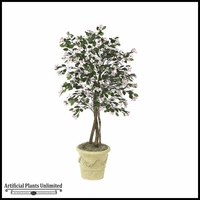 6' Artificial Dogwood Tree - Pink/White