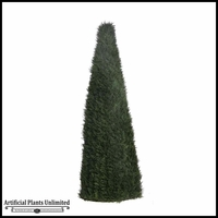 6' Cypress Cone Topiary - Outdoor