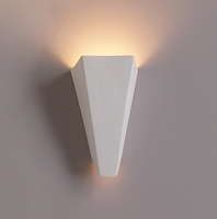 "6"" Inverted Obelisk Geometric Sconce"