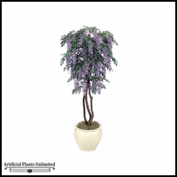 6' Wisteria Tree - Lt Purple | Indoor