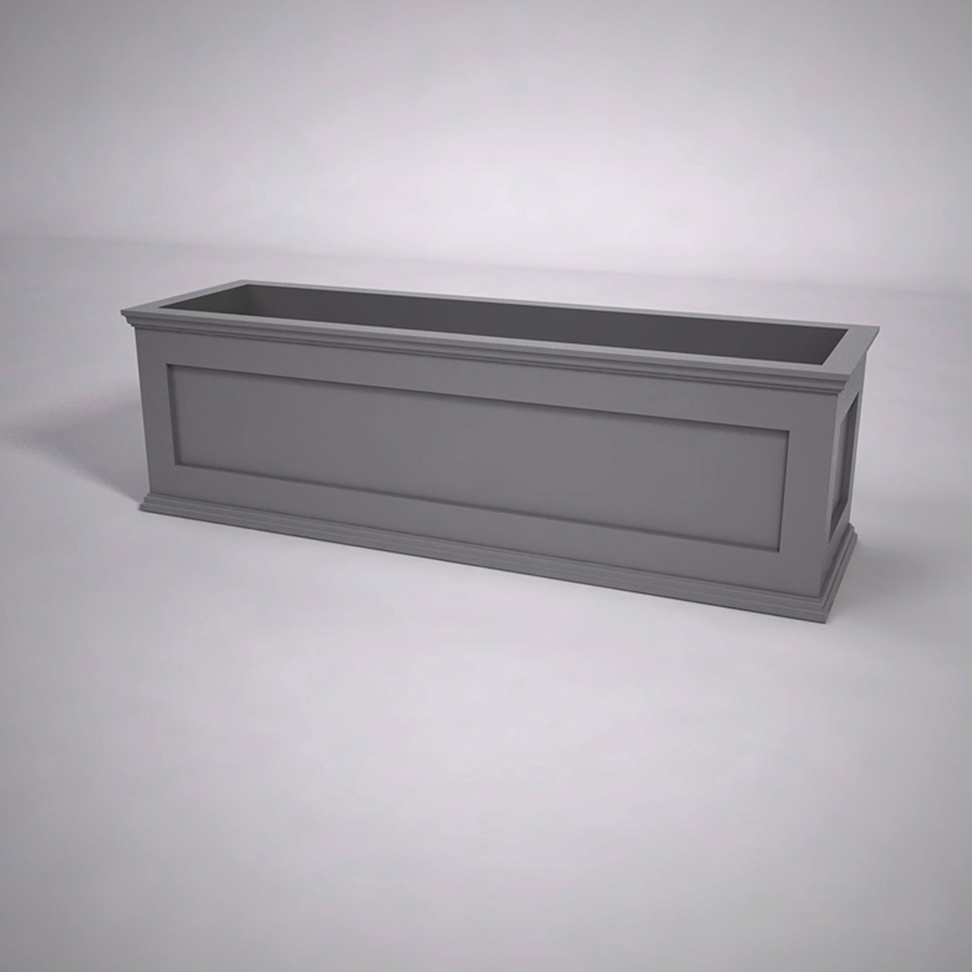Modern Cape Cod Composite Planter Box Planters Unlimited