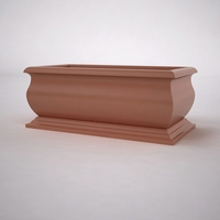 "60""L x 30""W x 24""H  Villagio Rectangular Planter"