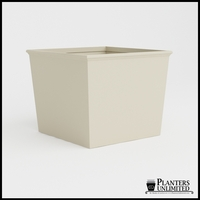 Tuscana Tapered Fiberglass Commercial Planter 60in.L x 60in.W x 48in.H