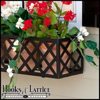 "60"" Lattice Window Box Cage"