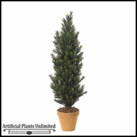 5' Outdoor Artificial Podocarpus Bush