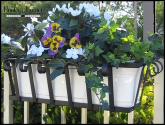 "60"" Venetian Decora Window Box with White Galvanized Liner"