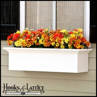 "60"" XL Catalina Premier  Window Box w/ *Easy Up* Cleat Mounting System"